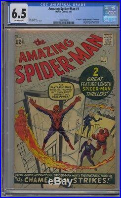 Amazing Spider-man #1 Cgc 6.5 Ow Pages Nicest 6.5