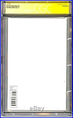 Amazing Spider-man #1 Cgc Ss 9.8 Stan Lee Signed Sketch Date Quote Comment 1/1