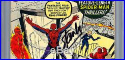 Amazing Spider-man #1 Cgc-ss 7.5 Signed Stan Lee Asm Creator Premiere Issue 1963
