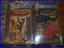 Amazing Spider-man #10,15-22 All Cgc