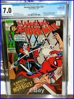 Amazing Spider-man 101 Cgc 7.0 First Appearance Of Morbius Movie Soon