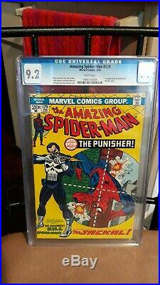 Amazing Spider-man 129 Cgc 9.2 White Pages, 1st Appearance Of The Punisher
