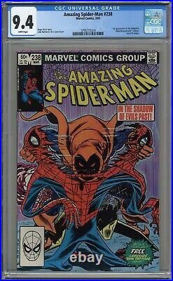 Amazing Spider-man #238 Cgc 9.4 1st Hobgoblin! White Pages 1983