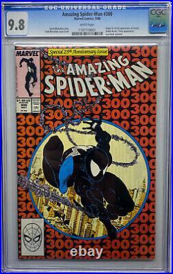 Amazing Spider-man 300 Cgc 9.8! First Appearance Of Venom