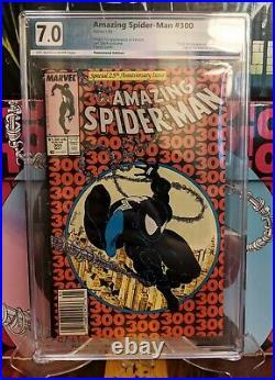 Amazing Spider-man 300 First Venom PGX 7.0 1988 Spiderman Newsstand not CGC