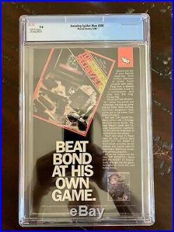 Amazing Spider-man #300 (may 88') Cgc 9.0 Rare Newsstand Edition-1st Venom