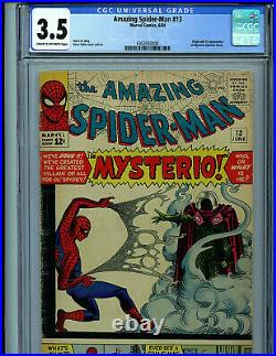 Amazing Spider-man Issue #13 CGC 3.5 Marvel Comics 1964 1st Mysterio K20