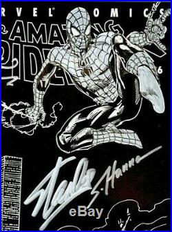 Amazing Spider-man V2 #36 Cgc Ss 9.8 Stan Lee & Hanna & Straczynski 9/11 Tribute