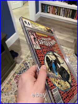 Amazing SpiderMan #300 CGC 9.6 Newsstand 3X SS Stan Lee, McFarlane, Micheline