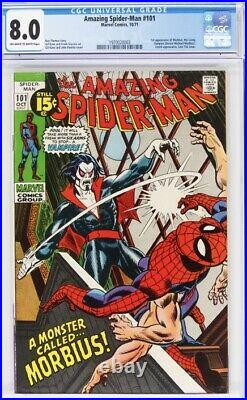 Amazing Spiderman #101 CGC 8.0
