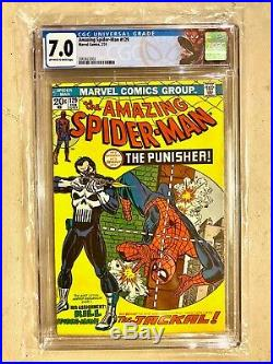 Amazing Spiderman #129 1st Appearance of The Punisher CGC 7.0 Marvel 2/74