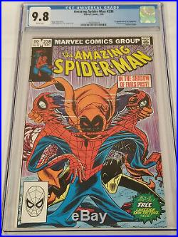 Amazing Spiderman #238 1st App Hobgoblin White Pages CGC 9.8