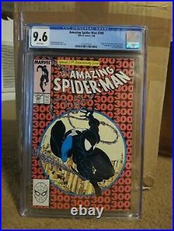 Amazing Spiderman 300! 9.6 CGC white pages! 1st Venom! Hot