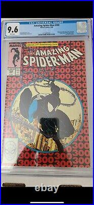 Amazing Spiderman 300 CGC 9.6 White Pages