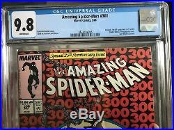 Amazing Spiderman 300 CGC 9.8 Venom MINT