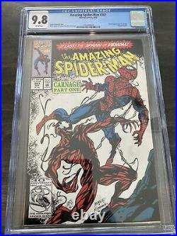 Amazing Spiderman 361 CGC 9.8 / White Pages / Movie Coming Soon! / Blue Labe