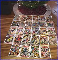 Amazing Spiderman 50, 103 to 143 29 issues. Nice higher grade collection with CGC