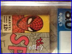 Amazing spider man #6 pgx 8.0 the lizard intro not cgc