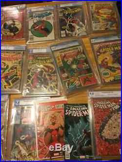 Amazing spiderman 30 400 Run Lot Silver Age Collection 32 Cgc Pgx Cbcs Offers