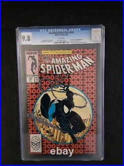 Amazing spiderman # 300 9.8 CGC 1st Appearance of Venom. Extremely hot
