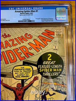 Beautiful Amazing Spider-Man #1 CGC 3.0 OW WHITE Pages Never cleaned/pressed