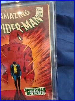 CGC 5.5 Amazing Spider-Man #50 Kingpin First App Wite To Off White Pages