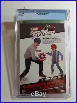 EDGE of SPIDER-VERSE #2 1st PRINT1st App New Spider-Woman Gwen Stacy CGC 9.8
