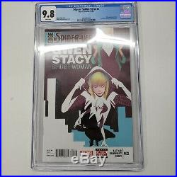Edge Of The Spider-Verse 2 Cgc 9.8 1st appearance Spider-Gwen