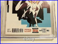 Edge of Spider-verse 2 CGC 9.8 1st Spider-Gwen SUPER KEY ISSUE