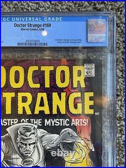 L@@K Silver Age Comic Lot Doctor Strange #169 1st Issue H@T KEY CGC 4.0 CBCS PGX