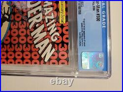 Marvel Comics Cgc 9.6 The Amazing Spider-man #300 5/88 White Pages