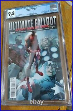Marvel Ultimate Fallout 4, CGC 9.8, 1st printing, 1st Appearance Miles Morales