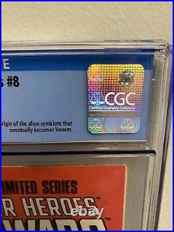 Marvel secret wars 8 Cgc 9.8