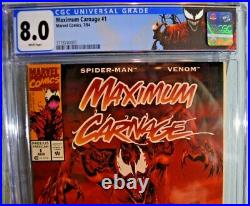 Maximum Carnage #1 Cgc 8.0 1994 Acclaim Promo MID Grade Scarce Movie Coming