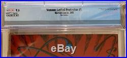 RARE GOLD Venom Lethal Protector #1 retailer variant CGC 9.6 NM+