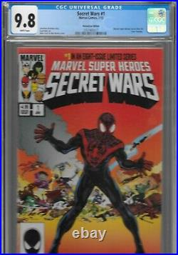 Secret Wars 1 Miles Morales Ultimate Fallout 4 Variant CGC 9.8 HeroesCon Heroes