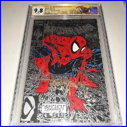 Signed SPIDER-MAN #1 CGC SS 9.8 (NM/MT) by TODD MCFARLANE 1990 SILVER EDITION