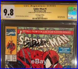 Spider-Man #1 AP CGC SS 9.8 Signed STAN LEE, Todd McFarlane. RARE