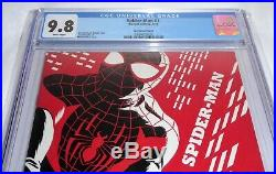 Spider-Man #1 CGC Universal Grade Comic 9.8 Cho Variant Cover Miles Morales