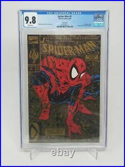 Spider-Man 1 Gold Variant CGC 9.8 White Pages McFarlane