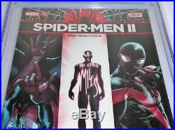 Spider-Men II #1 CGC Universal Grade Comic 9.8 Armadillo Taskmaster Appearance