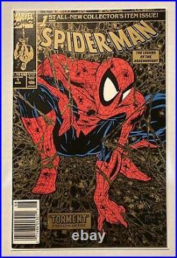 Spiderman #1 Todd McFarlane Gold UPC Walmart Newsstand CGC 9.4 9.6 9.8