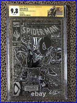 Ss Cgc 9.8 Spider-man #1 Original Art Ddpii Agent Venom Sketch