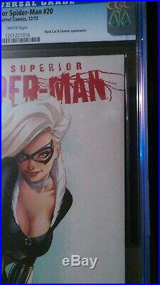 Superior Spider-Man #20 CGC 9.8 (2013) Amazing Black Cat Cover Scott Campbell