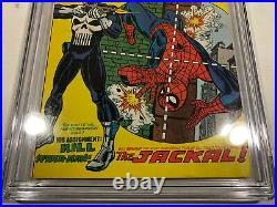 The Amazing Spider-Man #129 (Feb 1974, Marvel) CGC 6.0 1st Punisher White Pages