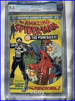 The Amazing Spider-Man #129 (Feb 1974, Marvel) First Appearance Of The Punisher