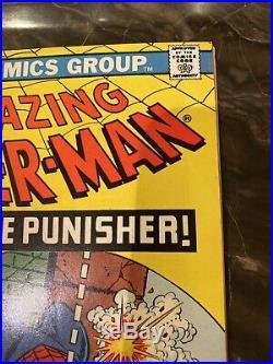 The Amazing Spider-Man # 129 Marvel First Punisher. Stunning Copy 9.4 CGC Ready