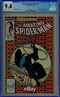 The Amazing Spider-Man #300 CGC 9.4 NM VENOM McFarlane Marvel comics 1283723002