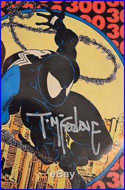 The Amazing Spider-Man #300 CGC 9.4 SS Signature Todd McFarlane First VENOM