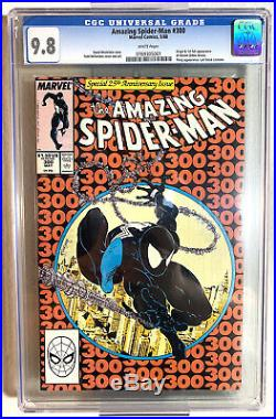 The Amazing Spider-Man #300 CGC 9.8 White Pages (May 1988) 1st Venom, McFarlane